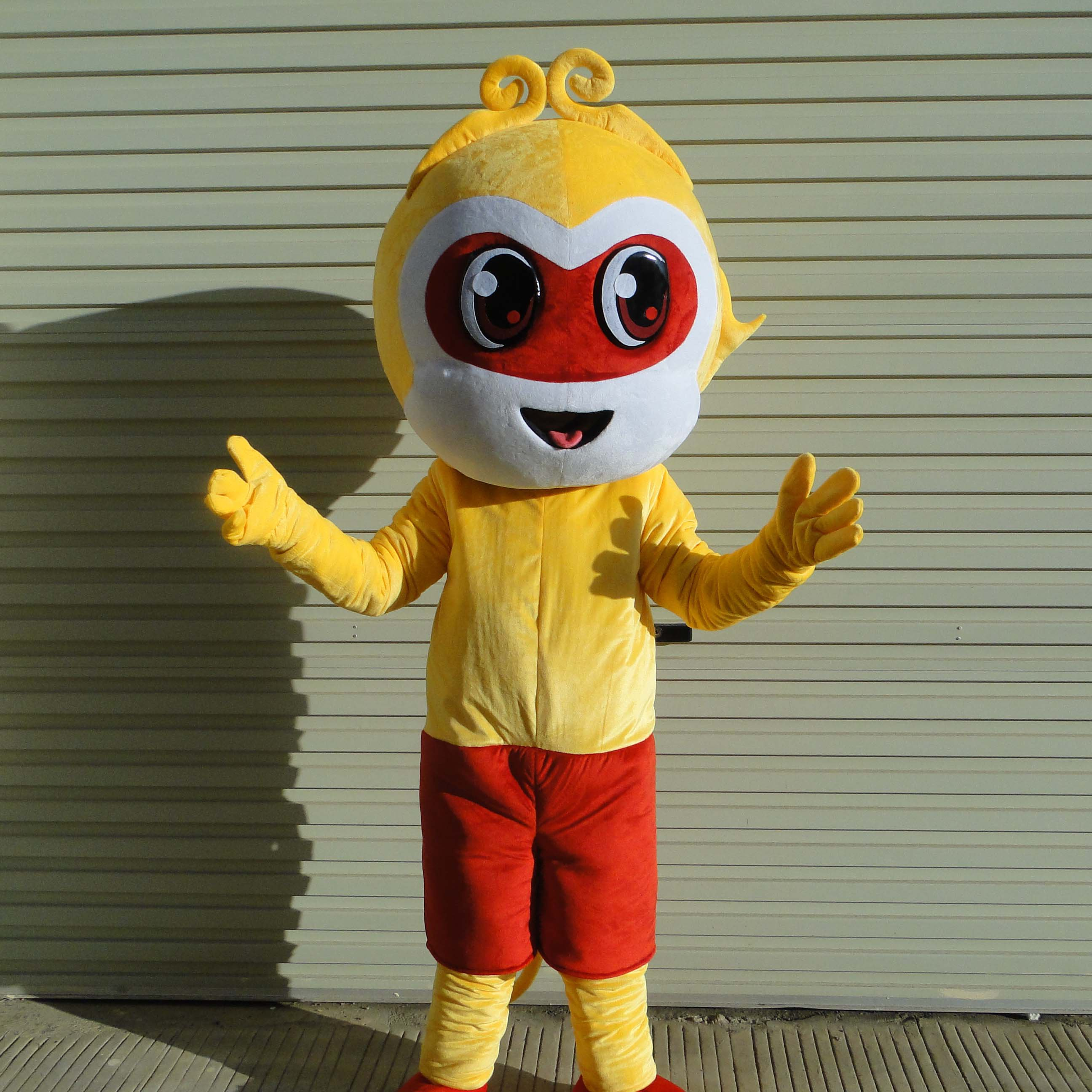 Monkey Cartoon Dolls Clothing Dolls Doll Clothing Doll Clothing Adult Activities Clothes Youxihou Mascot Costume