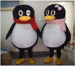 Cartoon Cartoon Doll Clothing Doll Clothing Qq Penguin Cartoon Doll Mascot Costume
