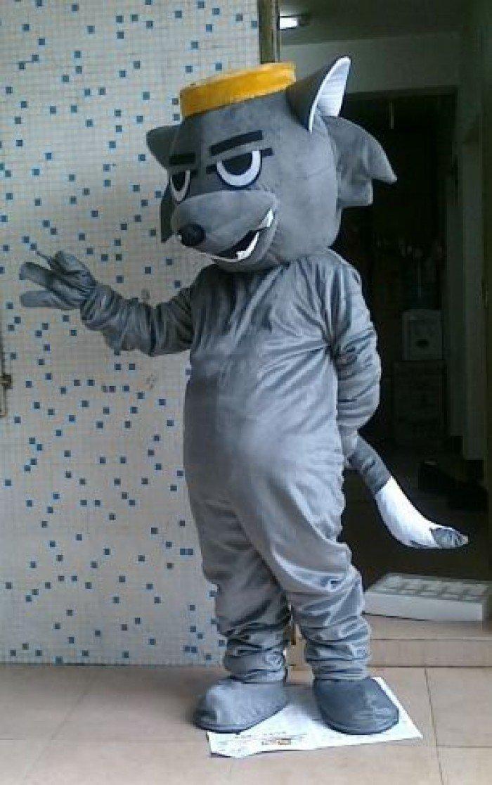 Cartoon Doll Clothing Cartoon Clothing Manufacturers Bulk of Plush Dolls Clothing Wolf Mascot Costume