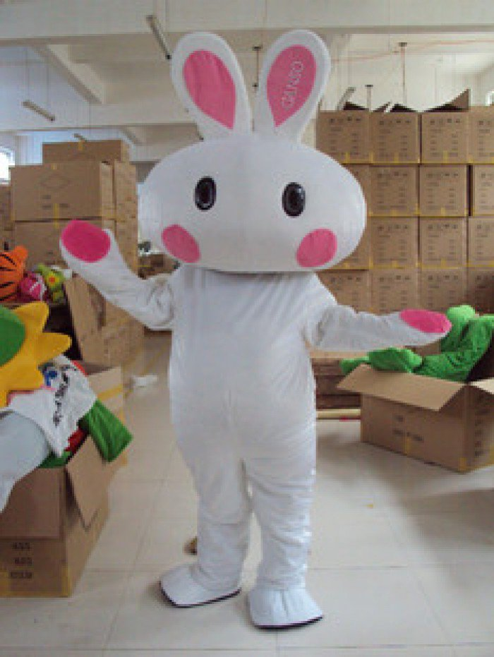 Cartoon Doll Clothing Doll Clothing Cartoon Bulk of Rabbit Miffy The White Rabbit Mascot Costume