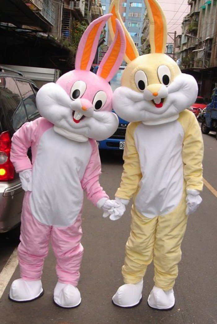 Cartoon Doll Clothing Doll Clothing Cartoon Rabbit Bugs Bunny Bugs Bunny Cartoon Dolls Mascot Costume