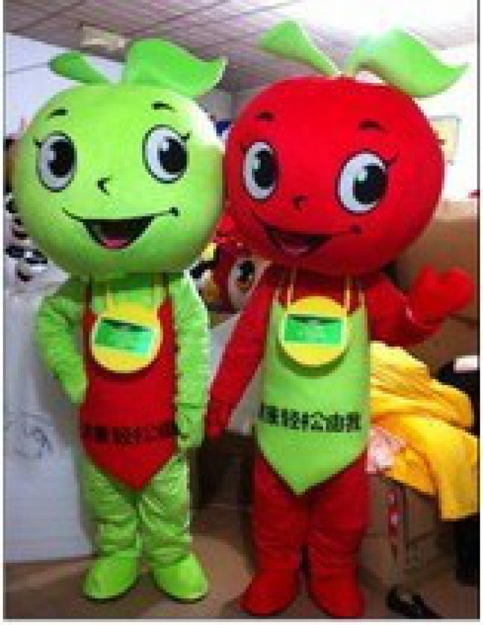 Cartoon Doll Clothing Manufacturers Clothing Performance Clothing Apple Apple Cartoon Clothing Doll Clothing Mascot Costume