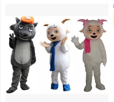 Manufacturers Cartoon Doll Clothing Doll Clothing Cartoon Pleasant Wolf Radiant Beauty of The Ocean Mascot Costume