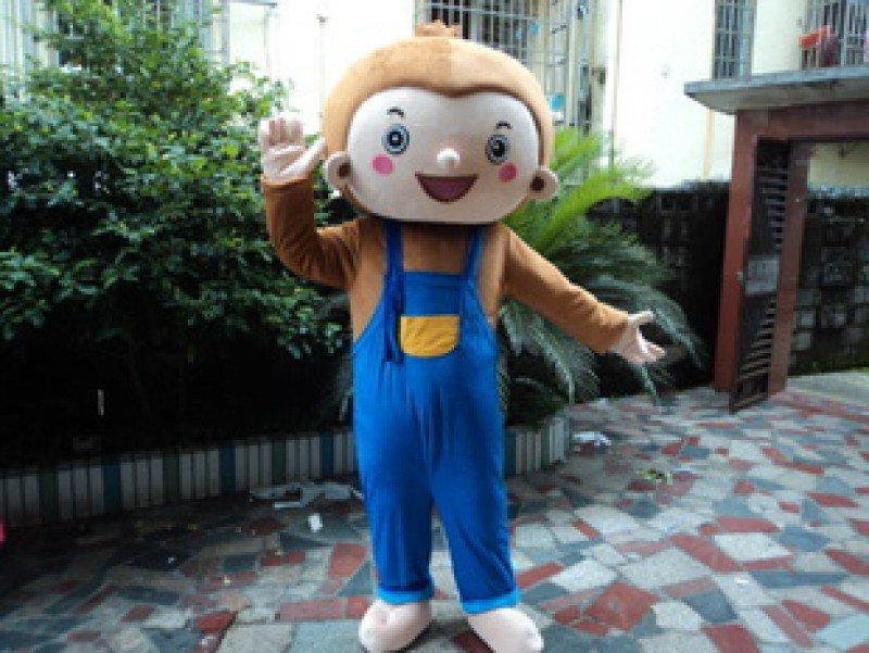 Hiphop Monkey Adult Costume Doll Dress Performance Props Dress Walking Cartoon Dolls Waiting Laugh Clever Costumes Mascot Costume