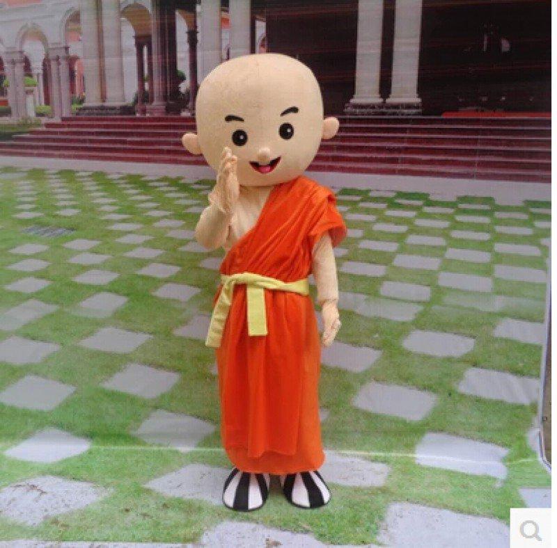 Monk Cartoon Doll Clothing Cartoon Walking Doll Clothing Doll Clothing Cartoon Show Clothing Anime Clothing Mascot Costume