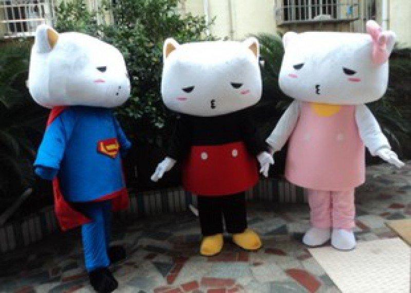 Pussycat Doll Clothing Adult Costume Performance Props Dress Little Cat Walking Cartoon Doll Clothing Mascot Costume