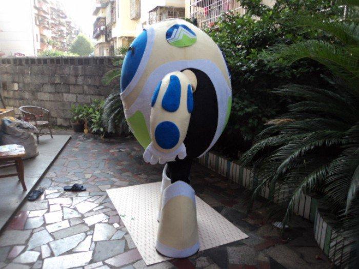 Robot Cartoon Doll Clothing Cartoon Doll Doll Cartoon Walking Doll Clothing Cartoon Show Props Mascot Costume