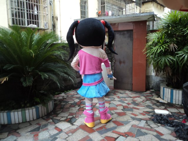 Beautiful Girl Cartoon Doll Clothing Cartoon Doll Doll Cartoon Walking Doll Clothing Cartoon Show Clothing Mascot Costume
