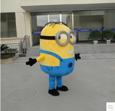 Despicable Me Despicable Me Little Yellow Man Doll Clothes Doll Clothing Xiao Huang Huang Doudou Person Cartoon Clothing Mascot Costume