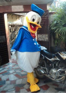 Donald Walking Cartoon Doll Clothing People Wear Costumes Performance Clothing Casplay Its Clothing Mascot Costume