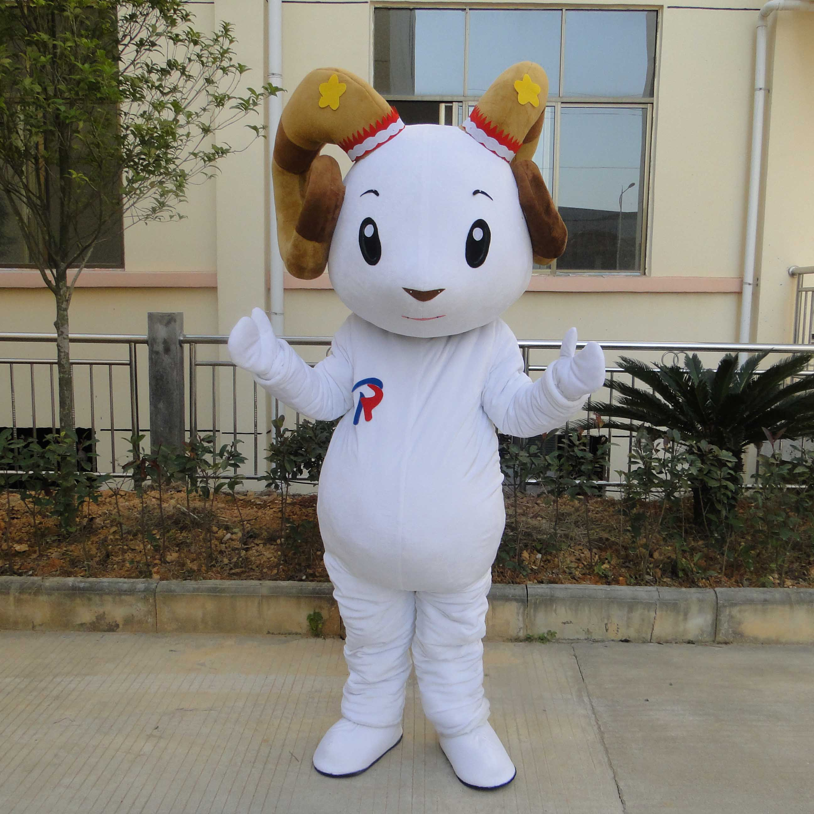 Sheep Sheep Mascot Cartoon Doll Clothing Doll Clothing Cartoon Show To Promote Its Props Walking Dolls For Adults Mascot Costume