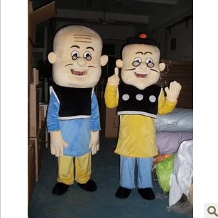 Cartoon Old Man and Da Fanshu Cartoon Figure Toy Doll Clothing Cartoon Show Props Mascot Costume