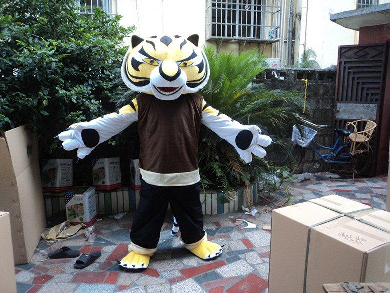 Doll Clothing Cartoon Tiger Plush Toy Dolls Walking Cartoon Doll Clothing Cartoon Show Props Mascot Costume