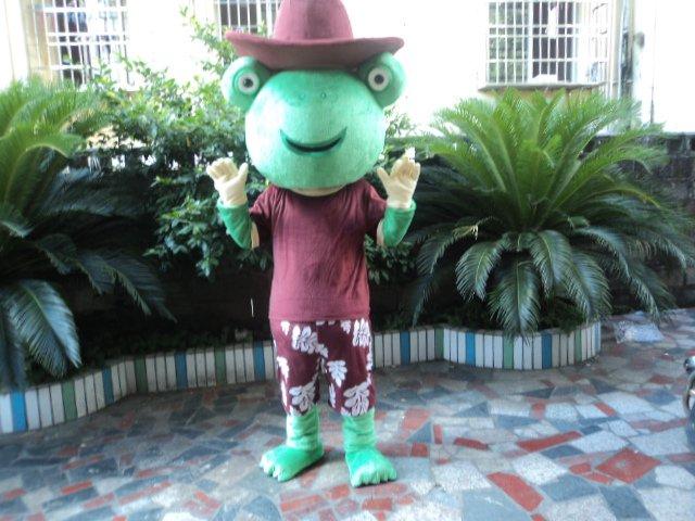 Frog Cartoon Doll Clothing Cartoon Doll Doll Cartoon Show Props Walking Cartoon Dolls Clothing Mascot Costume