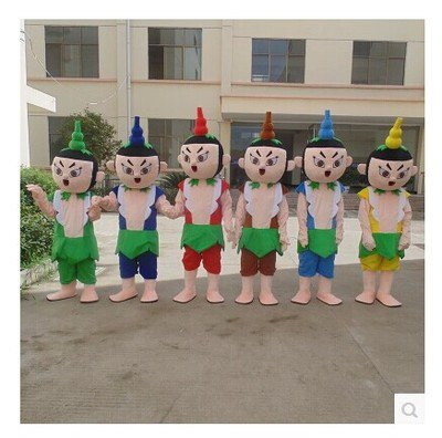 Gourd Cartoon Doll Clothing Doll Clothing Cartoon Walking Doll Cartoon Props Show Props Doll Mascot Costume