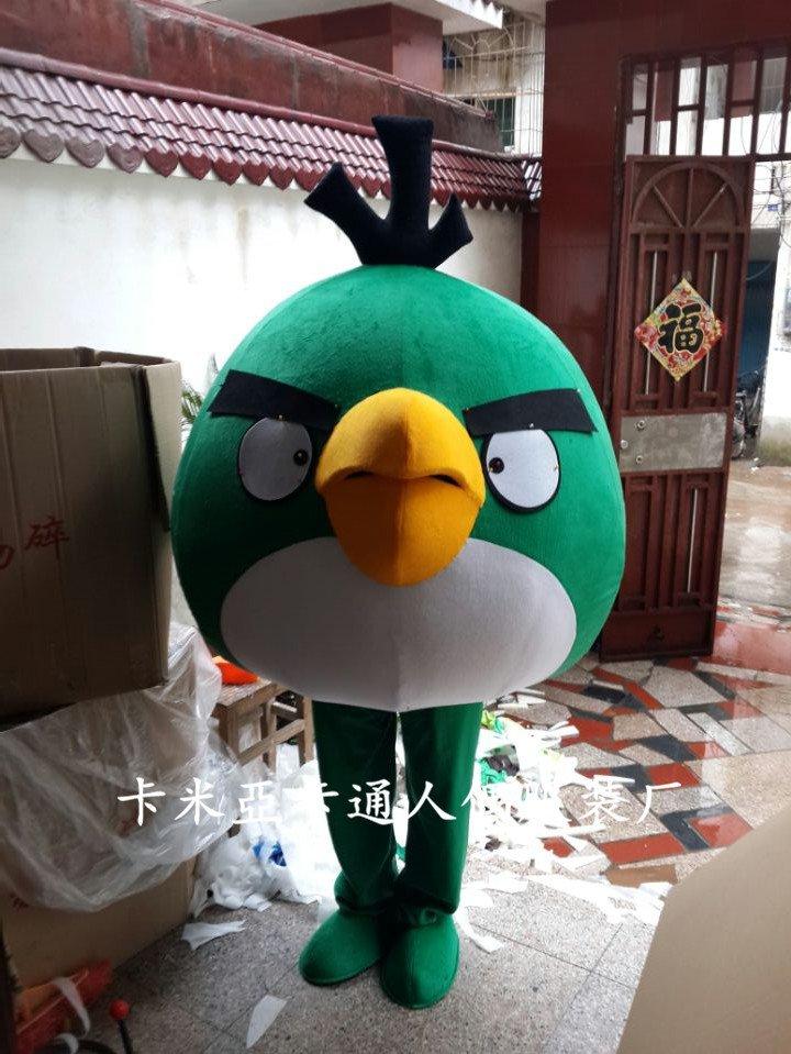 Red Bird Cartoon Doll Doll Clothing Cartoon Costumes Cartoon Costumes Television Birds Mascot Costume