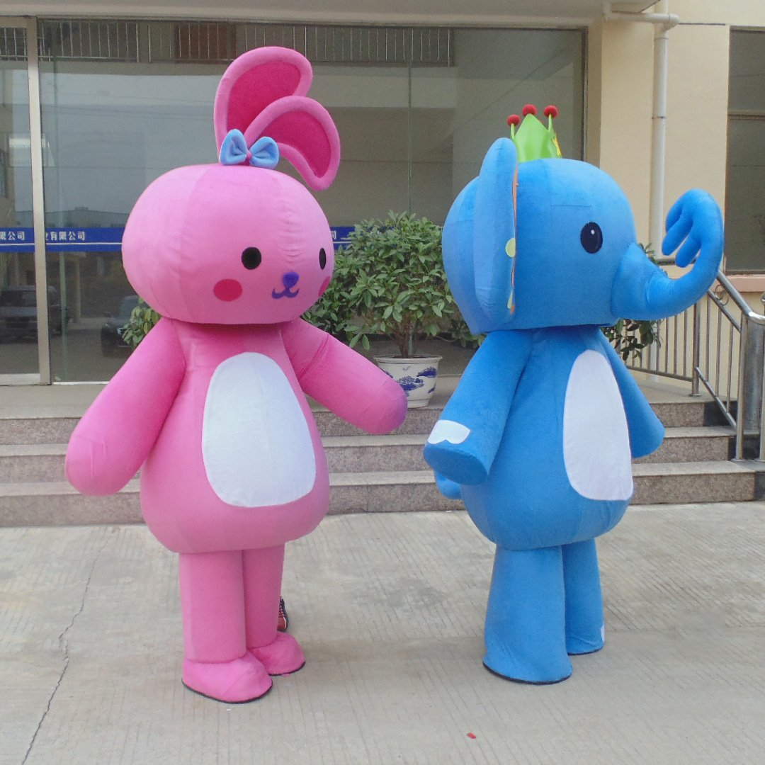 Elephant Cartoon Doll Clothing Cartoon Doll Clothing Cartoon Costumes Walking Activities Advertising Clothing Mascot Costume