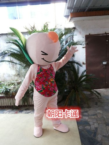 Provincial Games Mascot Round Cute Cute Cartoon Doll Doll Clothing Doll Warm-show Props Mascot Costume