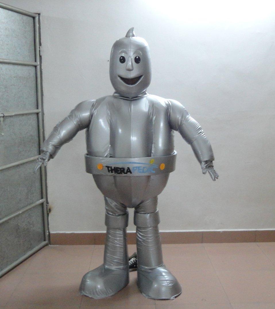 Final Fantasy Anime Model Pu Material Futuristic Robot Warrior Mascot Cartoon Dolls Clothing Mascot Costume
