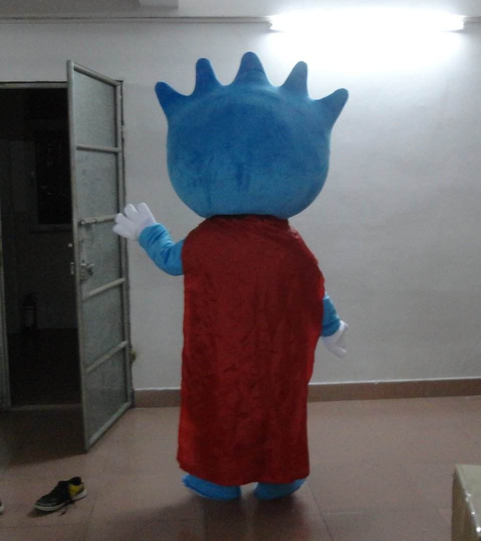 Mobile Small E Cartoon Doll Cartoon Clothing Doll Clothes To Promote Its Small E Cartoon Props Mobile Phone Plans Mascot Costume