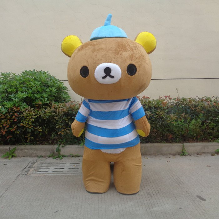 Easily Bear Lazy Bear Walking Cartoon Doll Clothing Doll Clothing Cartoon Dolls Cartoon Doll Bear Props Mascot Costume