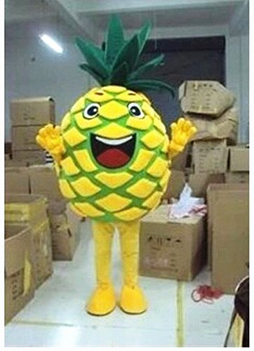 Fruit Cartoon Doll Clothing Cartoon Walking Doll Clothing Pineapple Advertising Props Stage Performances Mascot Costume
