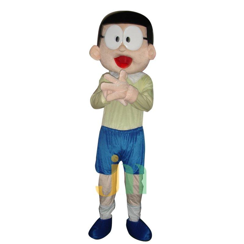 A Dream Nobita Cartoon Doll Cartoon Walking Doll Clothing Hedging Nobita Mascot Costume