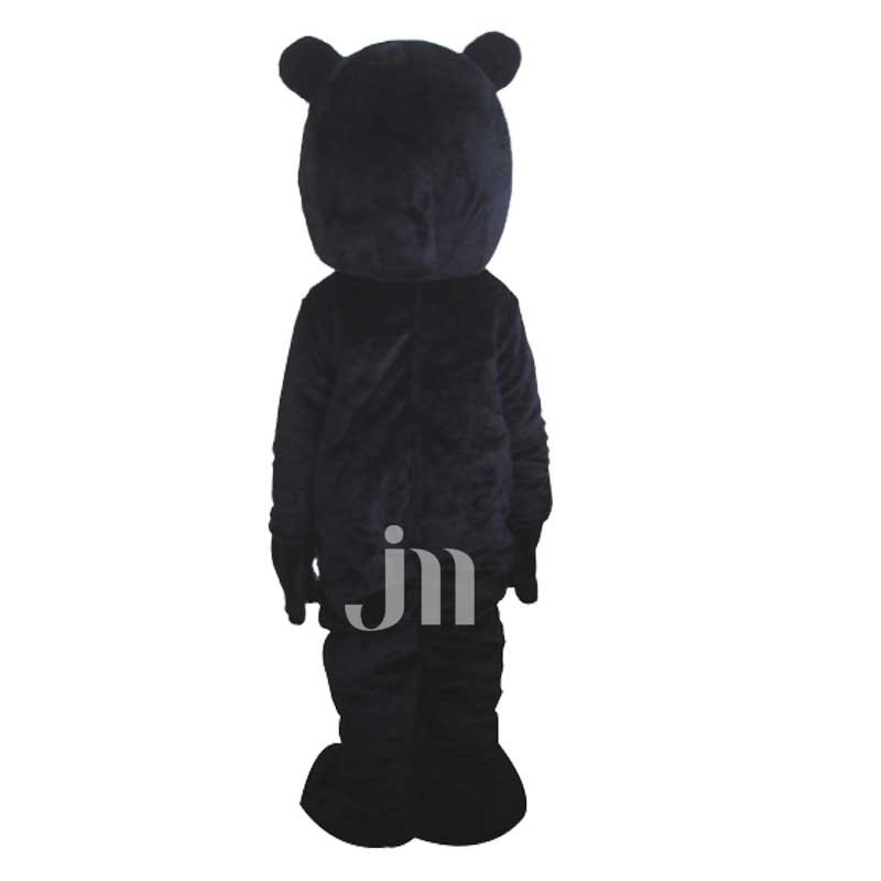 Black Bear Doll Cartoon Clothing Cartoon Walking Doll Hedging Black Bear Mascot Costume