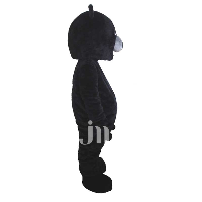 Black Bear Doll Cartoon Clothing Cartoon Walking Doll Hedging Black Bear Mascot Costume