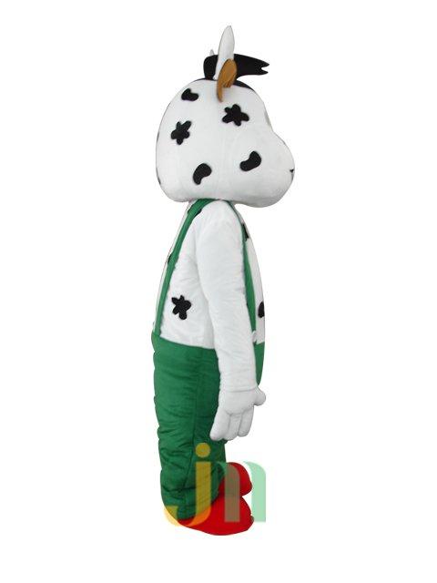 Cartoon Doll Strap Cow Walking Doll Cartoon Clothing Suit Strap Cow Dolls Mascot Costume