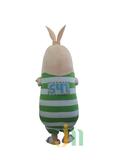 Cartoon Mascot Costume Dolls Walking Hedging Activities Escape Rabbit Cartoon Male Clothing