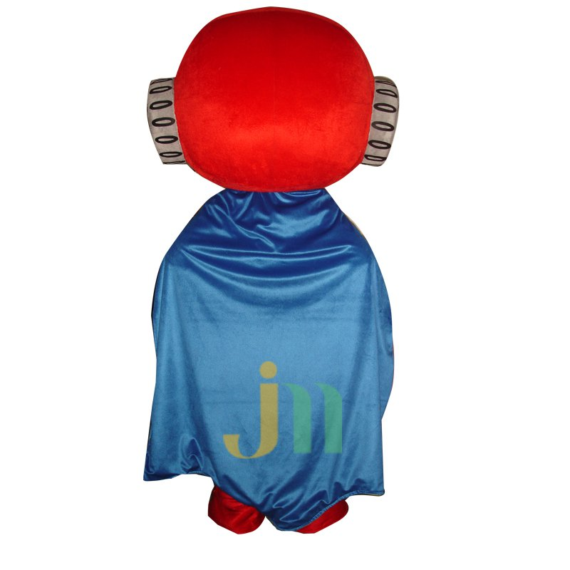 Cartoon Red Superman Doll Cartoon Walking Doll Clothing Hedging Red Superman Mascot Costume
