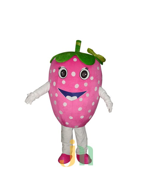 Strawberry Doll Cartoon Clothing Cartoon Walking Doll Hedging Strawberries Mascot Costume