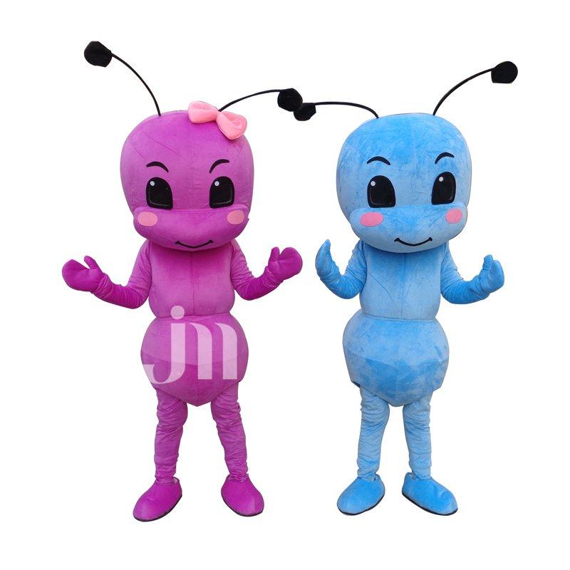 Cartoon Doll Cartoon Ant Siblings Walking Doll Clothing Factory Hedging Ant Siblings Mascot Costume