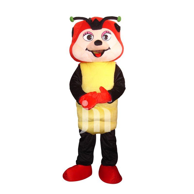 Cartoon Doll Cartoon Clothing Cute Ladybug Cute Ladybug Walking Doll Sets Mascot Costume