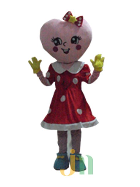 Cartoon Doll Clothing Walking Hedging Mascot Costume Decorative Hearts Baby Even Animation Activities