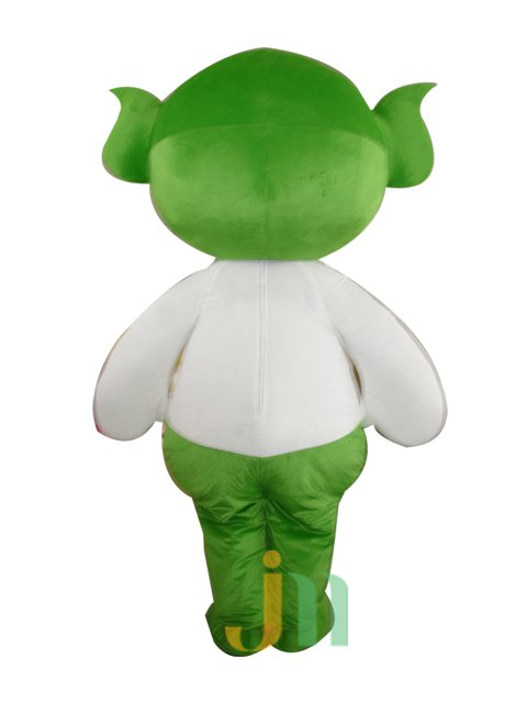 Cartoon Doll Clothing Walking Hedging Mascot Costume Suit Decorated Green and Pleasant Animation Activities