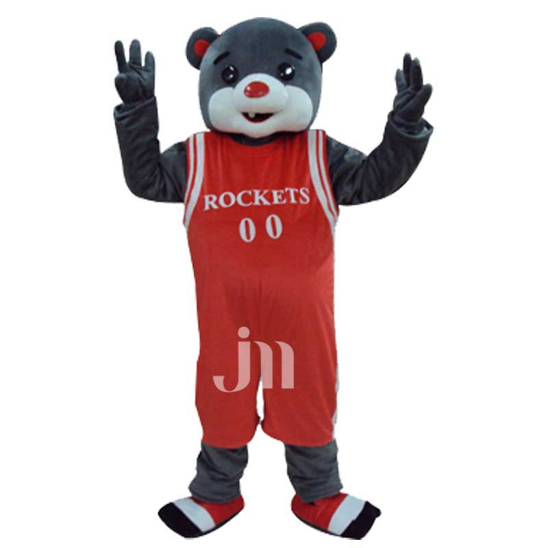 Cartoon Rockets Bear Doll Cartoon Walking Doll Clothing Sets Rockets Bear Doll Mascot Costume