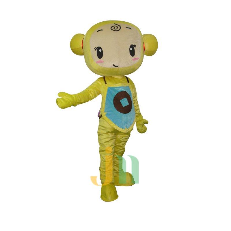 Choi Choi Doll Cartoon Clothing Cartoon Walking Doll Hedging Choi Choi Mascot Costume