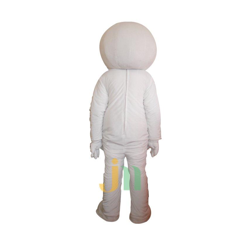 Keren White Cartoon Doll Cartoon Walking Doll Clothing Hedging White Keren Mascot Costume