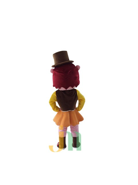 Lovely Babe Doll Cartoon Clothing Cartoon Walking Doll Hedging Babe Doll Mascot Costume