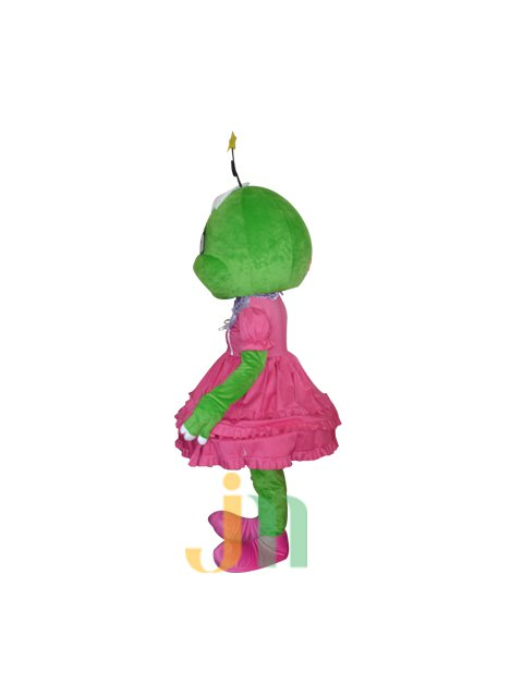 Lovely Cartoon Frog of Beauty Even Walking Doll Cartoon Clothing Sets Frog Mimi Mascot Costume