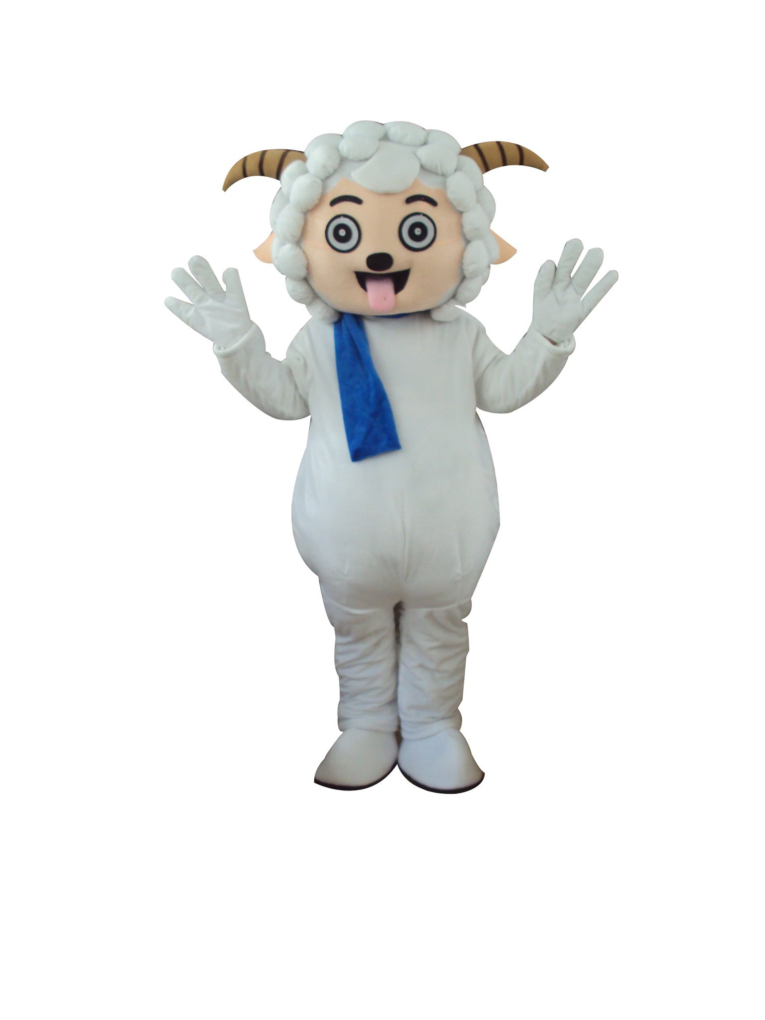 Pleasant Goat and Big Big Wolf Doll Cartoon Walking Doll Clothing Hedging Cute Sheep Mascot Pleasant Mascot Costume