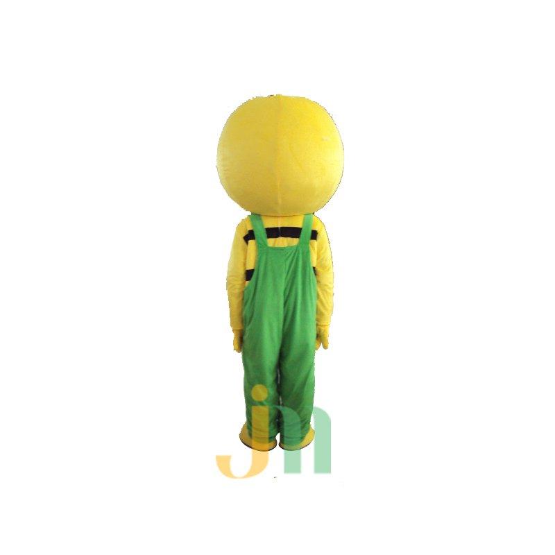 Yellow Cartoon Walking Doll Clothing Doll Cartoon Villain Hedging Yellow Villain Mascot Costume