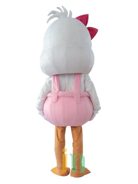 Aquarius Duck Female Cartoon Walking Doll Clothing Hedging Aquarius Female Duck Mascot Costume