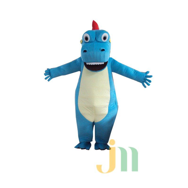 Big Blue Dragon Cartoon Doll Cartoon Walking Doll Clothing Hedging Big Blue Dragon Mascot Costume