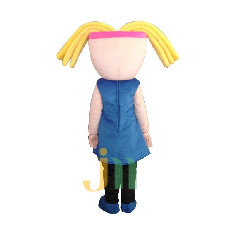 Cartoon Girl Doll Cartoon Walking Doll Clothing Hedging Girl Mascot Costume