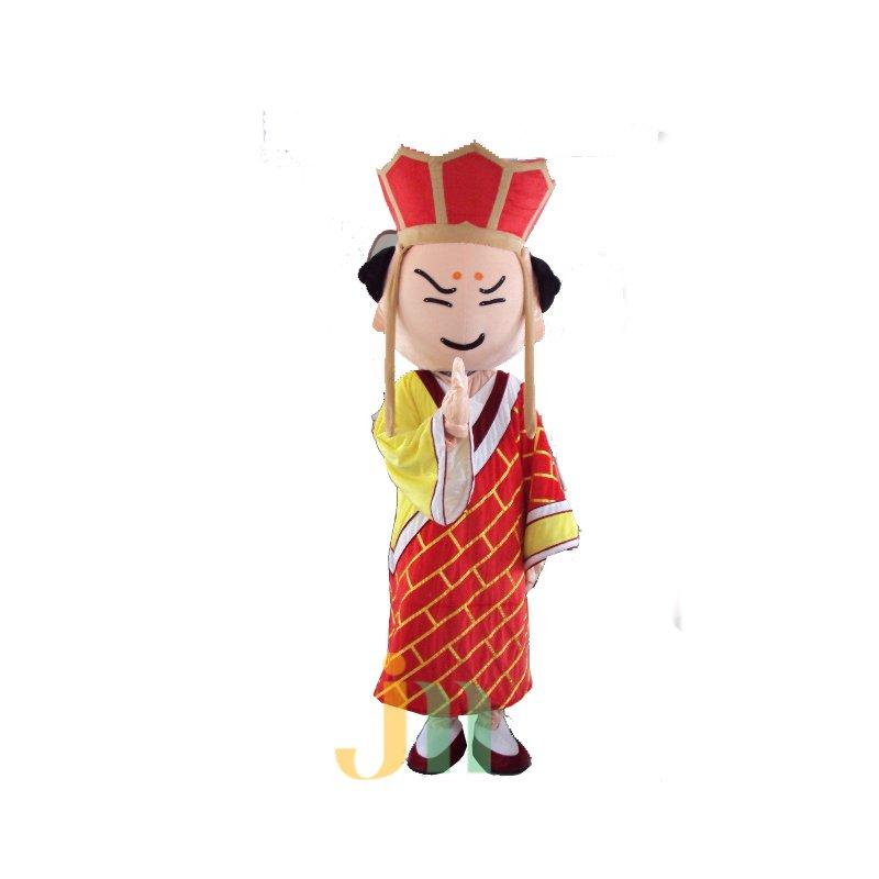 Cartoon Monkey Doll Cartoon Walking Doll Clothing Sets Head Monk Mascot Costume