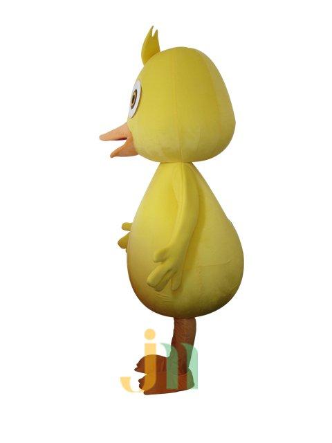 Cartoon Yellow Duck Doll Cartoon Walking Doll Clothing Hedging Yellow Duck Mascot Costume