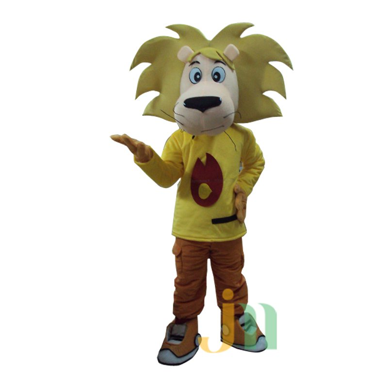 Doll Cartoon Clothing Cartoon Lion Walking Doll Hedging Little Lion Mascot Costume